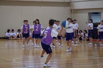 2019球技大会1年女子