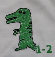 1年2組Tシャツ表