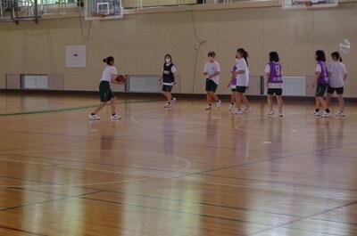 球技大会(バスケットボール)